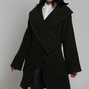 Explosion London tweed shawl collar wool -RP
